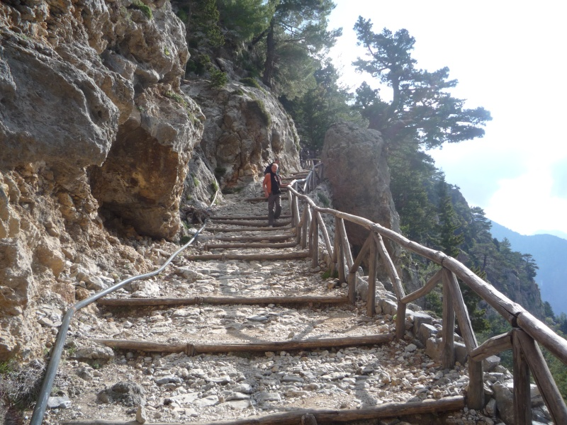 Greece, Island of Crete, Paleochora, The Samaria Gorge Walk 13610