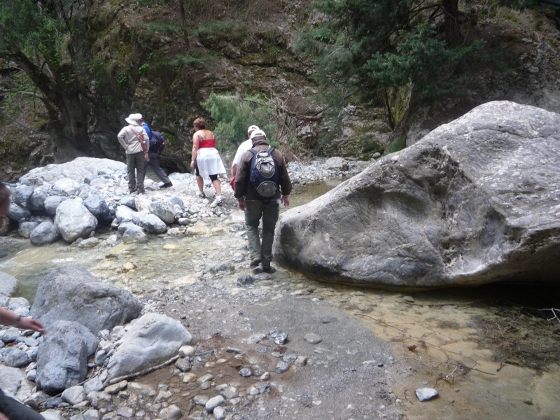 Greece, Island of Crete, Paleochora, The Samaria Gorge Walk 16711