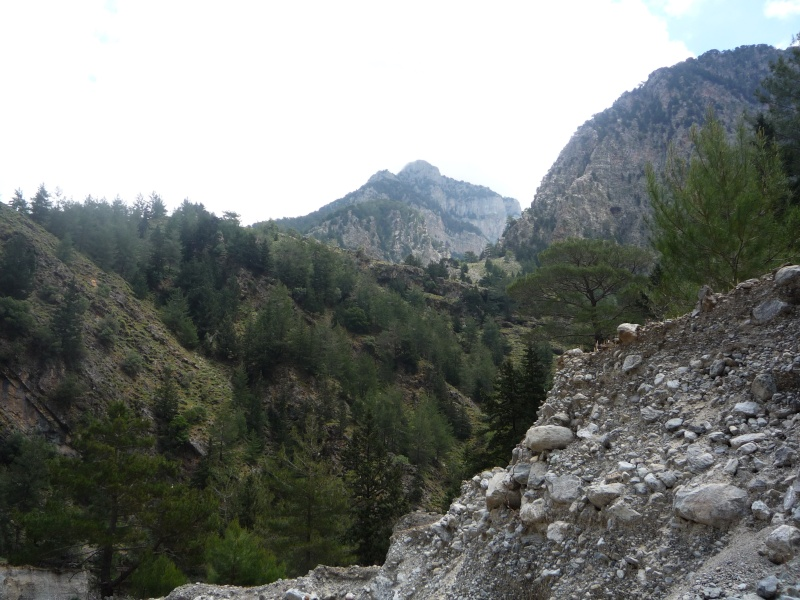 Greece, Island of Crete, Paleochora, The Samaria Gorge Walk 17411