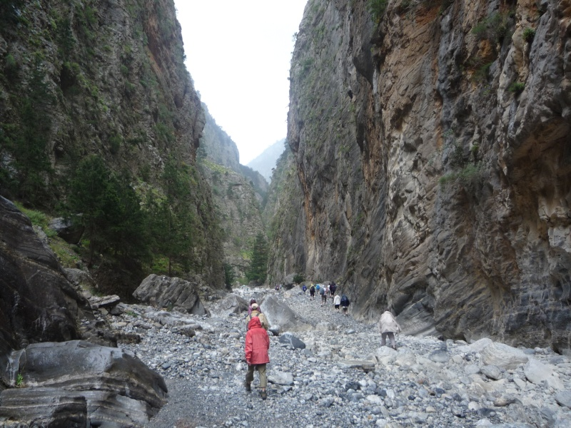 Greece, Island of Crete, Paleochora, The Samaria Gorge Walk 17910