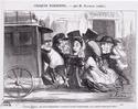 Daumier, Steinlen, Toulouse-Lautrec, la Vie au quotidien Croqui10
