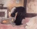 Daumier, Steinlen, Toulouse-Lautrec, la Vie au quotidien Femme_10
