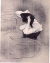 Daumier, Steinlen, Toulouse-Lautrec, la Vie au quotidien Femme_11