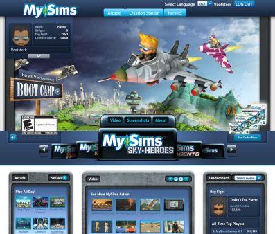 My sims Sky Heroes Mysims11