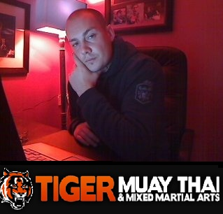 SteveSkis MMA training at Tiger Muay Thai - Phuket