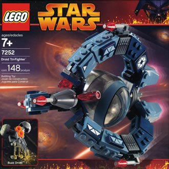 LEGO STAR WARS - 8086 - Droid Tri-Fighter Droid-10