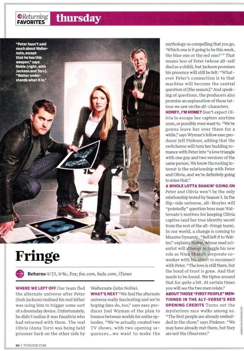 Fringe : articles dans la presse ! Tvguid10