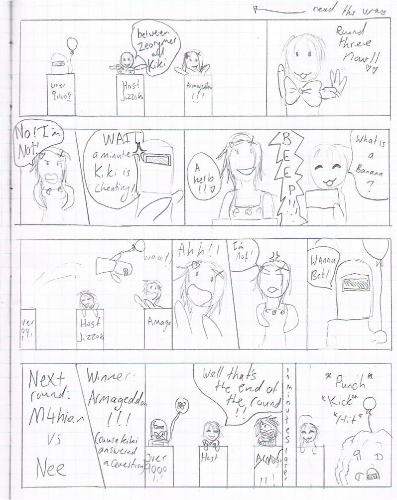 The Comic Game Show!! Part of CNZ comic :3 #6 Waa10