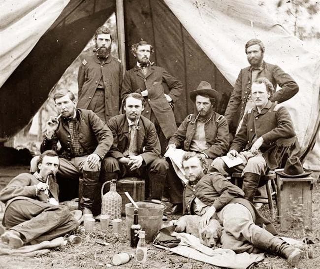 uniforme cavalry federal George10