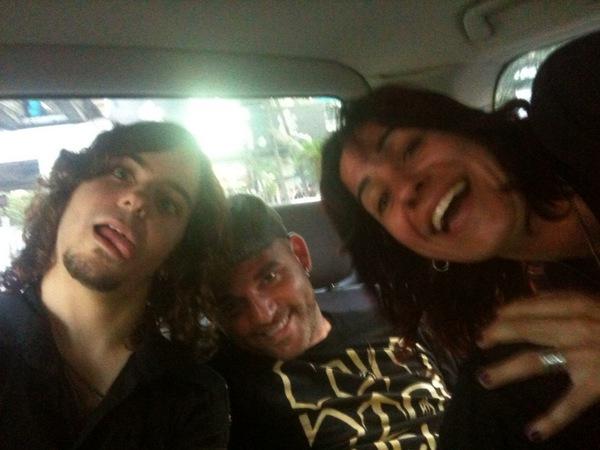 Orianthi's Twitpics 14309710