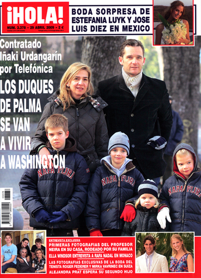 The Spanish Royal Family Portad10