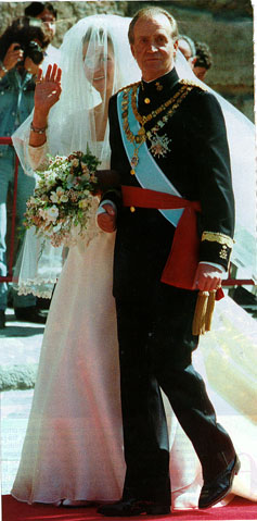 The Spanish Royal Family Wed_el10