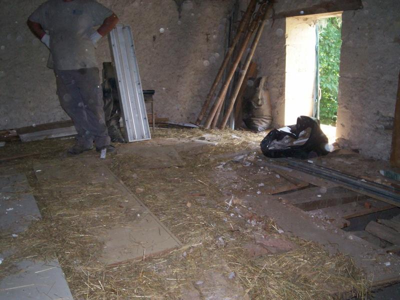 travaux dans notre grange Travau11