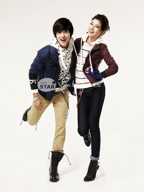 Kim Bum and miss A for EDWIN 20100810