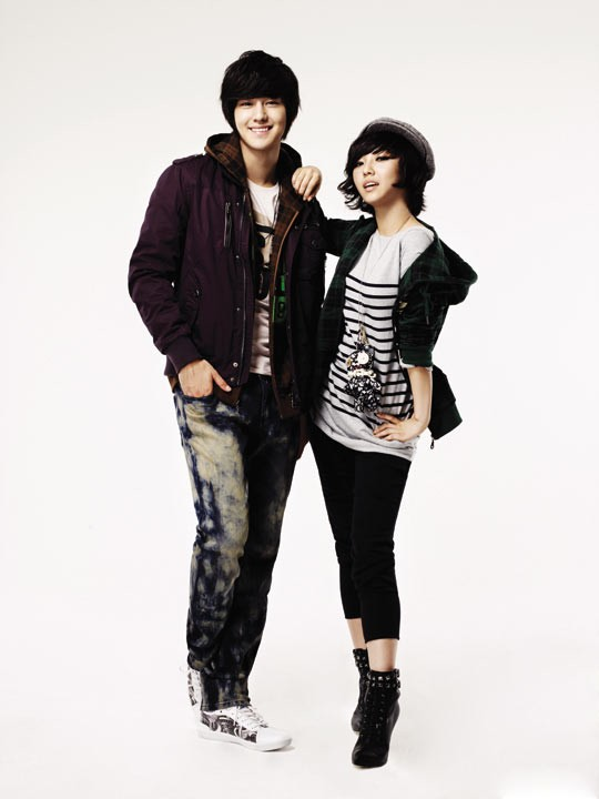 Kim Bum and miss A for EDWIN 20100812