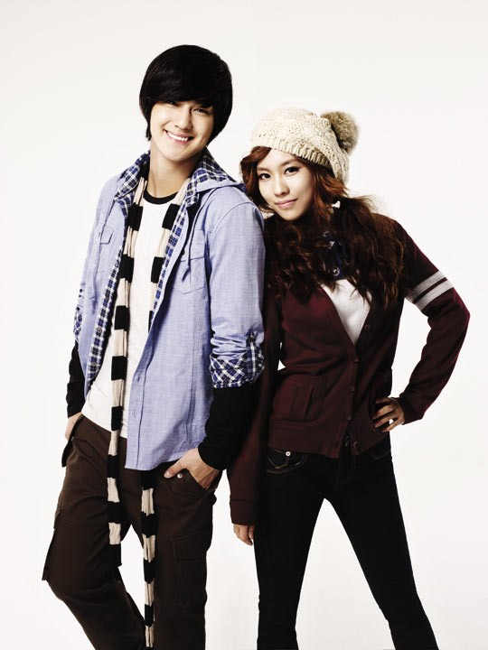 Kim Bum and miss A for EDWIN 20100813