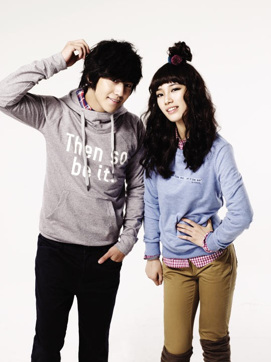 Kim Bum and miss A for EDWIN 20100814