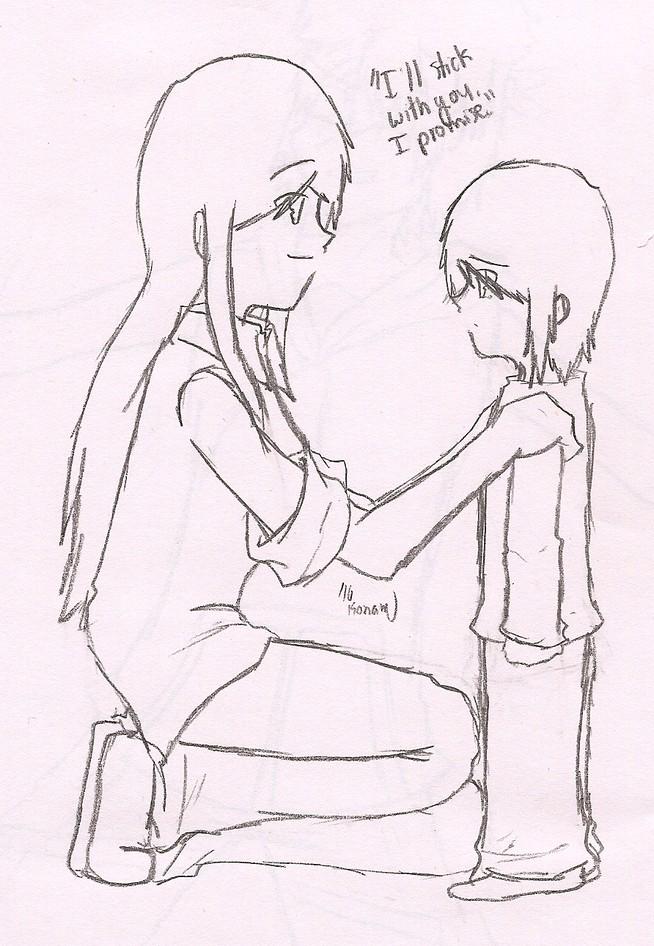 Hurrah For Konaxookami's Mai-Series and yuri-Art!  Illsti10