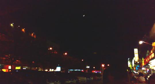 Wonderful View!! Ada bintang pas diatas Bulan sabit 1x10