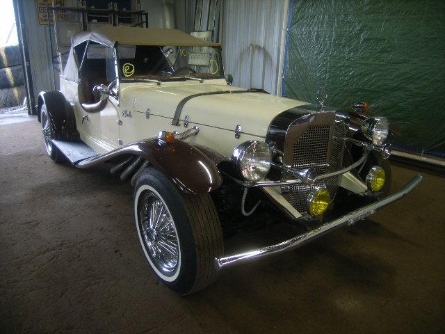 une Mercedes-Benz Gazel kit de 1929 16020410