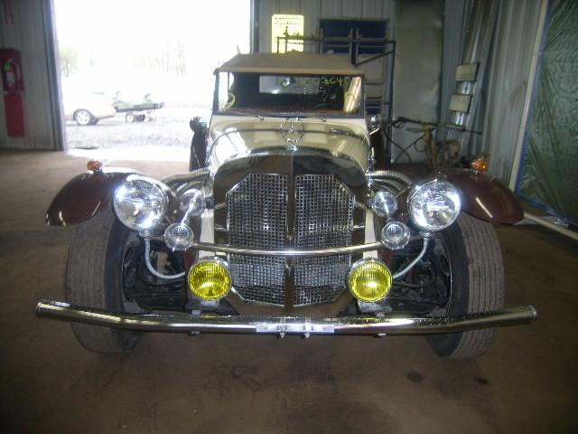 une Mercedes-Benz Gazel kit de 1929 16020418