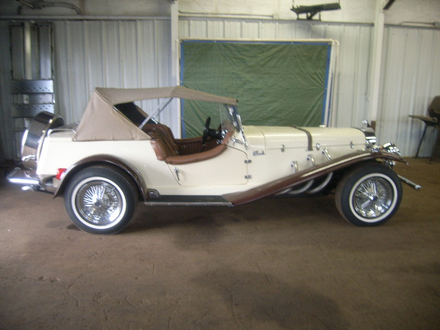 une Mercedes-Benz Gazel kit de 1929 16020419
