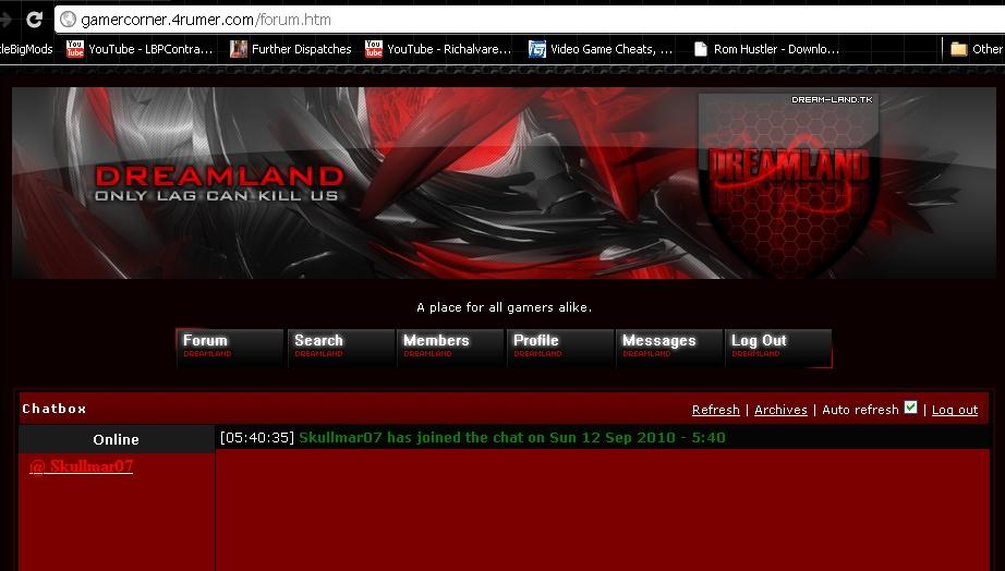 skullmar07's forum is now open! Screen10
