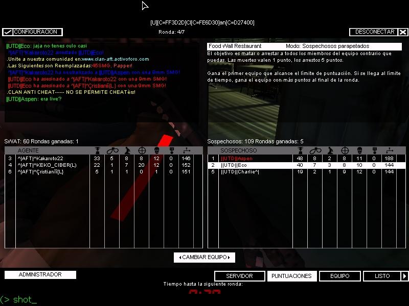 ||UTD|| vs  ^|AFT|^   Fun de entrenamiento Shot0015