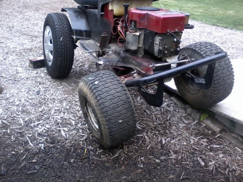 Off road monster hot rod mower Monste10