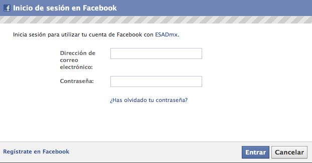 [Resuelto]¡Ya puedes conectarte con tu cuenta facebook a la comunidad ESADmx! Fb12