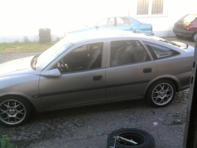 mein alter vectra b  P1006011