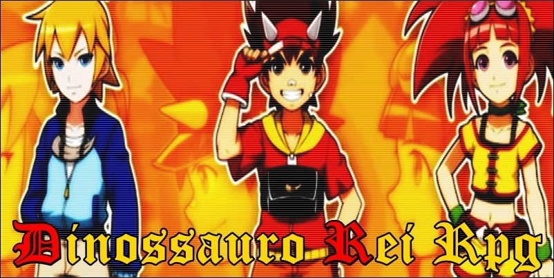 Dinossauro Rei RPG
