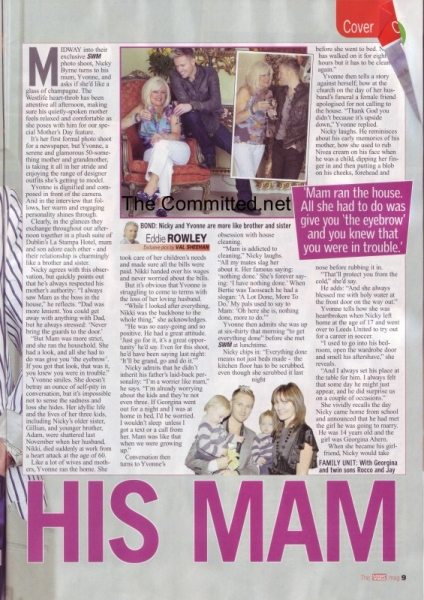 SUNDAY WORLD MAGAZINE MOTHER'S DAY SPECIAL 2010 Normal20