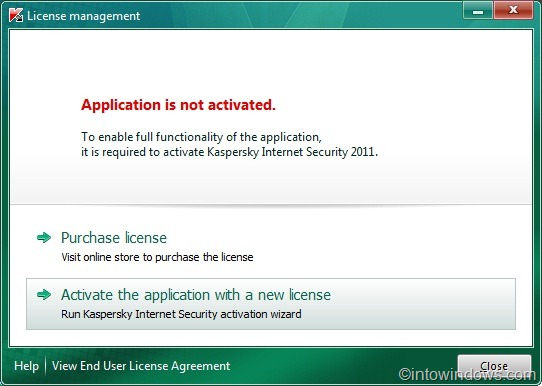 How To Activate Kaspersky Internet Security 2011 Offline With Key File Activa11