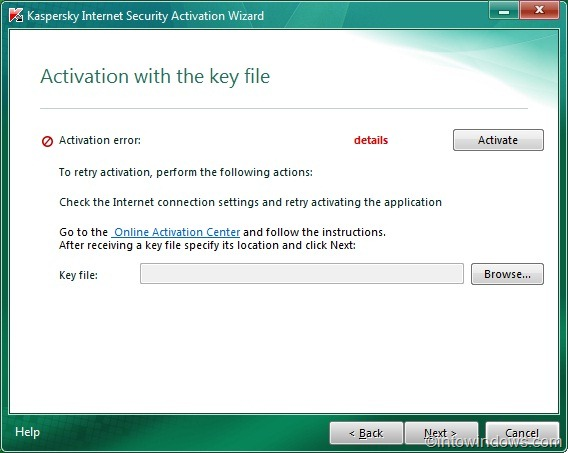 How To Activate Kaspersky Internet Security 2011 Offline With Key File Activa14