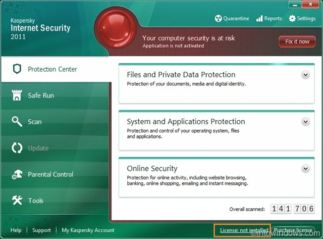 How To Activate Kaspersky Internet Security 2011 Offline With Key File Activa19