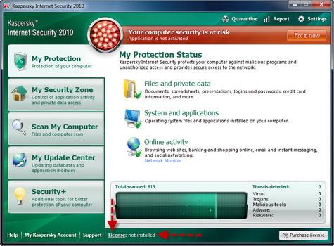 Tutorial How to Apply Kaspersky 2010 Key File Kasper11