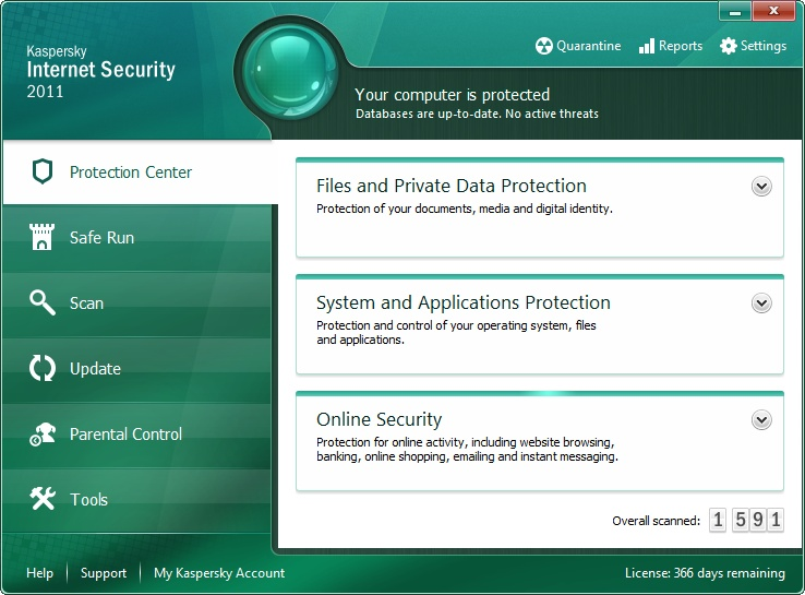 Kaspersky Internet Security 2011 Kis20110