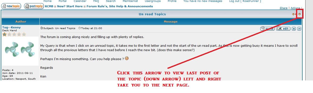 View last posts of Unread Topics Last_p10