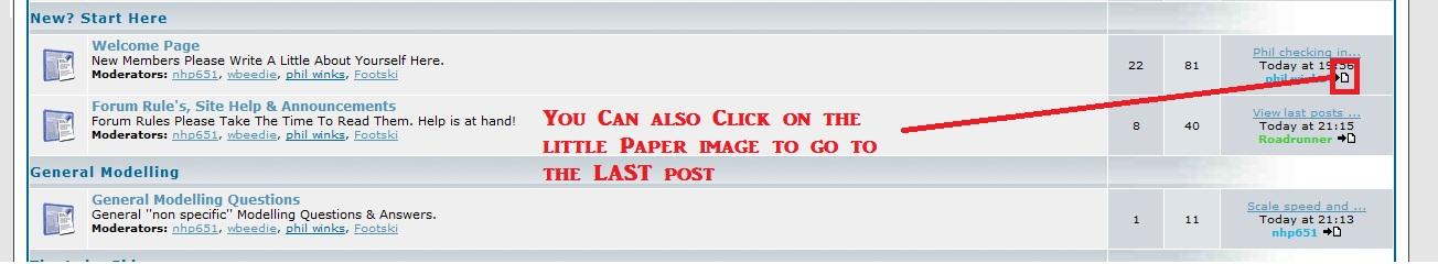 View last posts of Unread Topics Last_p12
