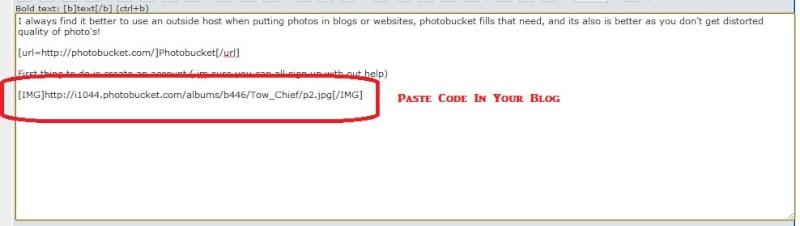 Uploading Photos Using Photo Bucket. P710