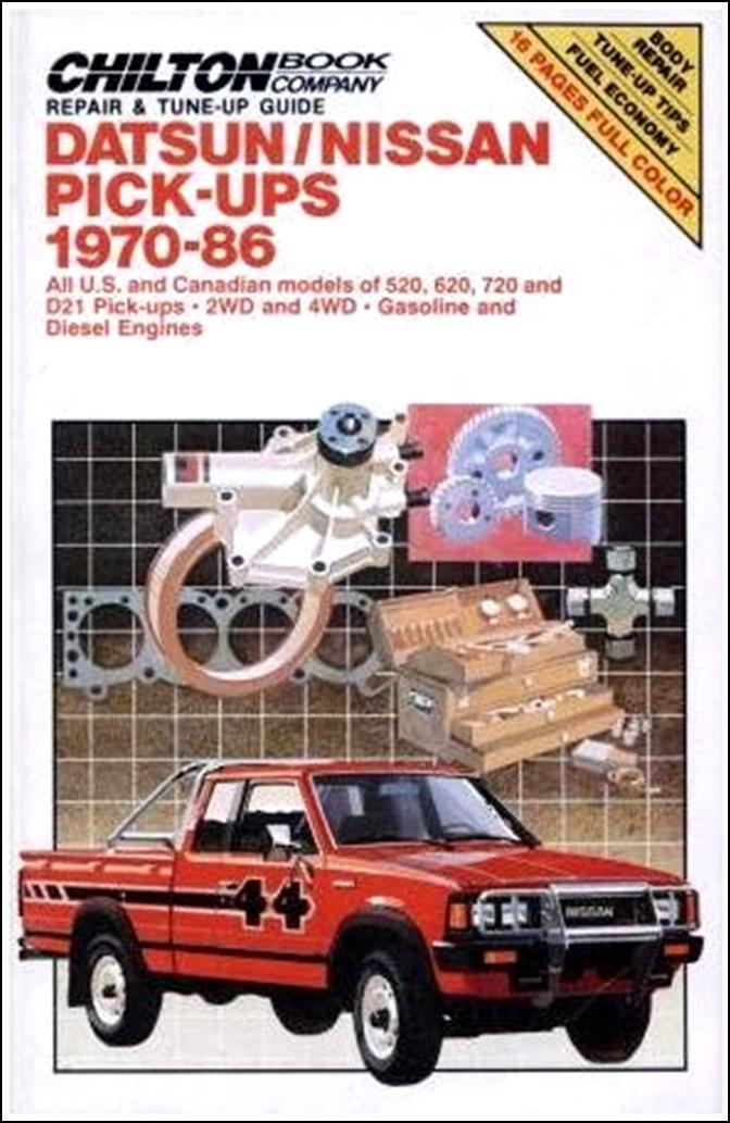Topic officiel DATSUN pick up 720 KING CAB 2WD & 4WD Guide11