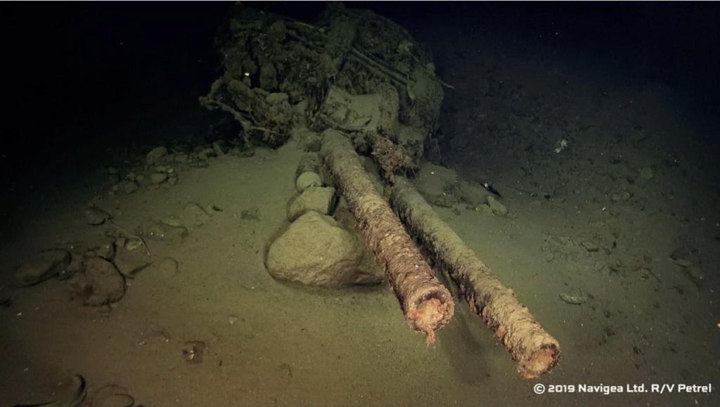 L'épave retrouvée du Hiei 12710