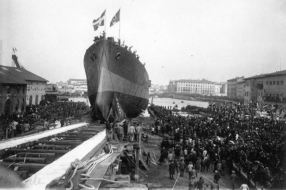 G. Averof, dernier croiseur-cuirassé à flot. 12mars10