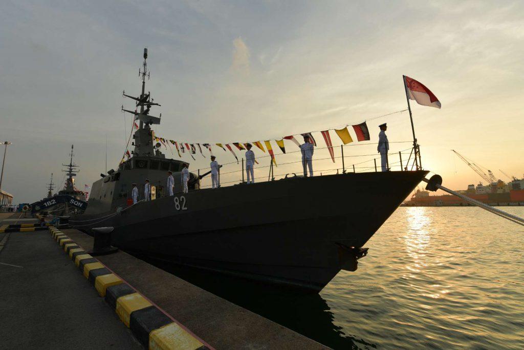 Marine singapourienne 8210