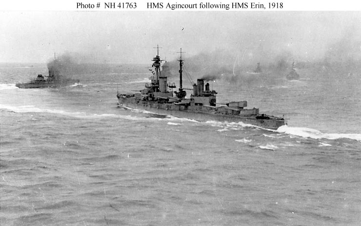 ROYAL NAVY CUIRASSE HMS ERIN  Aginco10
