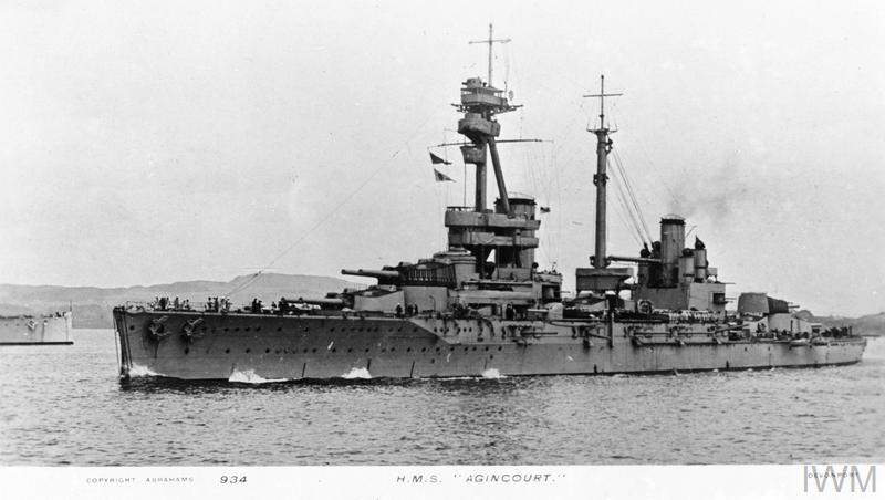 ROYAL NAVY CUIRASSE HMS ERIN  Ajinco10