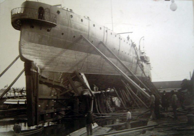 G. Averof, dernier croiseur-cuirassé à flot. Averof10