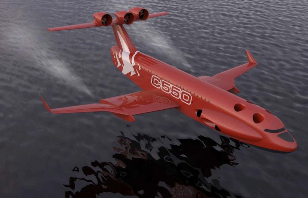 L'ekranoplane serait de retour vers 2015 C55010