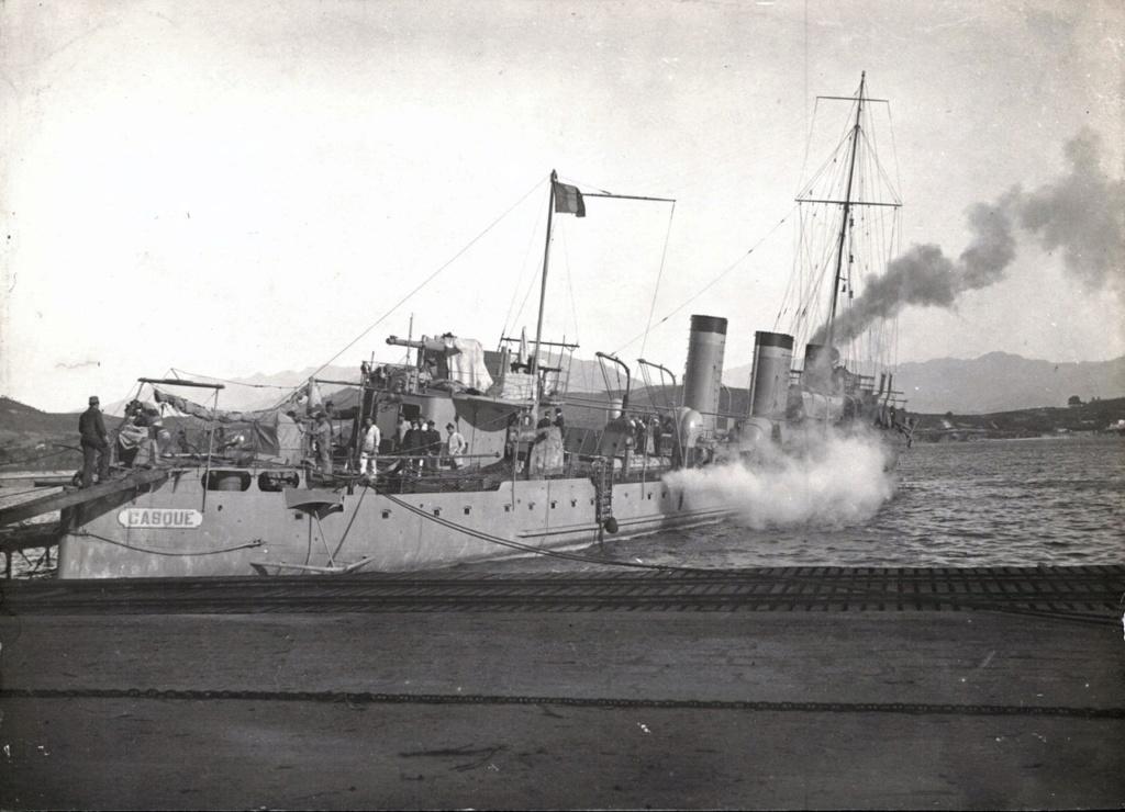 Les contre-torpilleurs français - Page 3 Casque10
